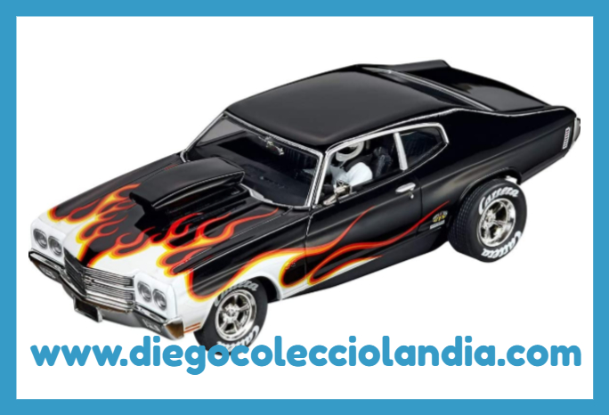 "CHEVROLET CHEVELLE SS 454 "" SUPER STOCKER II "" DE CARRERA EVOLUTION REF/ 20027580 .  TODOS LOS COCHES DE SLOT DE LA WEB, SON COMPATIBLES CON CIRCUITOS SCALEXTRIC, SUPERSLOT, NINCO Y CARRERA........ www.diegocolecciolandia.com . Tienda Slot Scalextric Madrid España. Slot Cars Shop Madrid Spain."