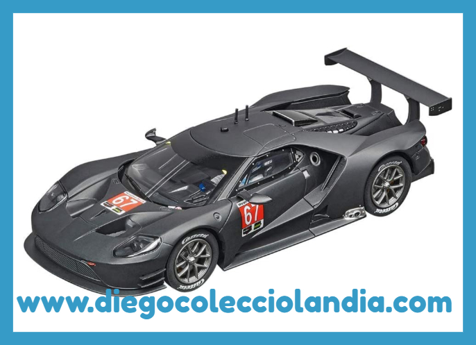 FORD GT RACE CAR #67 DE CARRERA EVOLUTION REF/ 20027584 .  TODOS LOS COCHES DE SLOT DE LA WEB, SON COMPATIBLES CON CIRCUITOS SCALEXTRIC, SUPERSLOT, NINCO Y CARRERA........ www.diegocolecciolandia.com . Tienda Slot Scalextric Madrid España. Slot Cars Shop Madrid Spain.