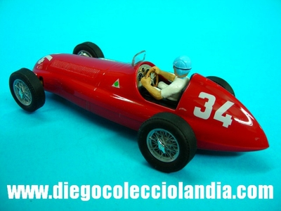 "Alfa Romeo 158 #34 ""J.M.Fangio"" Mónaco 1950. Edición Limitada y Numerada de 400 unidades ""ForoSlot Madrid Otoño 2013"" DE CARTRIX REF/ 0032 . TODOS LOS COCHES DE SLOT DE LA WEB, SON COMPATIBLES CON CIRCUITOS SCALEXTRIC, SUPERSLOT, NINCO Y CARRERA..........  www.diegocolecciolandia.com . Slot Cars Shop Spain."