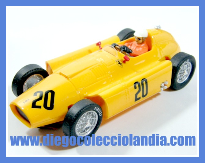 "LANCIA FERRARI D50 #20"" ANDRÉ PILETTE "" 1956 DE CARTRIX REF/ 0968 . SERIE GRAND PRIX LEGENDS DE CARTRIX. EDICIÓN LIMITADA Y NUMERADA DE 1500 UNIDADES. TODOS LOS COCHES DE SLOT DE LA WEB, SON COMPATIBLES CON CIRCUITOS SCALEXTRIC, SUPERSLOT, NINCO Y CARRERA............. www.diegocolecciolandia.com . Tienda Scalextric Slot Madrid España . Slot Cars Shop Madrid Spain."