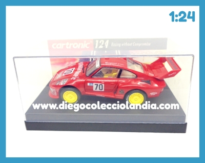"PORSCHE 935 TURBO "" HAWAIILAN TROPIC "" DE CARTRONIC REF / 31020 . COCHE EN ESCALA 1:24 COMPATIBLE CON CIRCUITOS NINCO ,CARRERA Y CARTRONIC  ........................... www.diegocolecciolandia.com . Tienda Slot, Scalextric Madrid, España . Slot Cars Shop Madrid Spain."