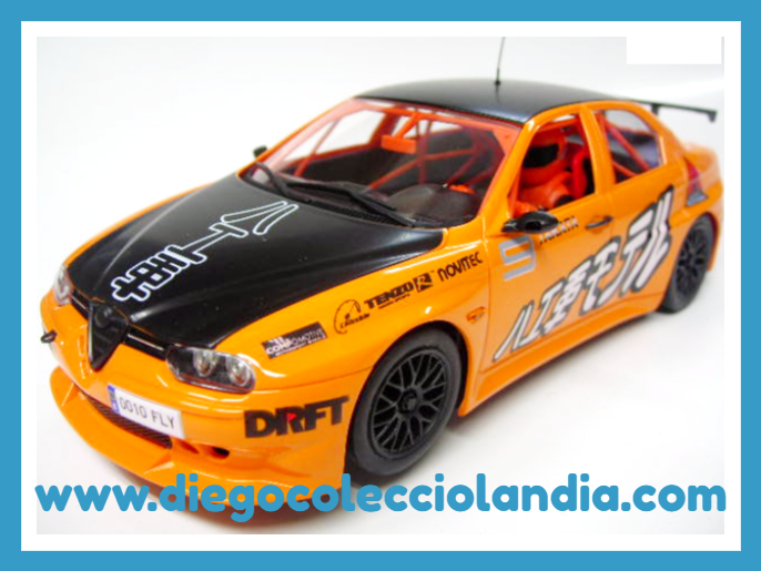 "ALFA ROMEO 156 GTA "" DRIFT "" DE FLY CAR MODEL REF/ 07063 . TODOS LOS COCHES DE SLOT DE LA WEB, SON COMPATIBLES CON CIRCUITOS SCALEXTRIC, SUPERSLOT, NINCO Y CARRERA......................... www.diegocolecciolandia.com . Slot Cars Shop Madrid, Spain. Tienda Slot, Scalextric Madrid, España."