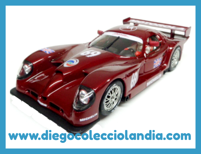 "PANOZ ESPERANTE GTR-1 "" UK SPECIAL EDITION RED "" DE FLY CAR MODEL  REF/ E62 . TODOS LOS COCHES DE SLOT DE LA WEB, SON COMPATIBLES CON CIRCUITOS SCALEXTRIC, SUPERSLOT, NINCO Y CARRERA.......... www.diegocolecciolandia.com . Slot Cars Shop Madrid, Spain. Tienda Slot, Scalextric Madrid, España."
