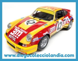 "PORSCHE 911 CARRERA #42 "" 24H. LE MANS 1973 "" DE FLY CAR MODEL REF/ 88156 . TODOS LOS COCHES DE SLOT DE LA WEB, SON COMPATIBLES CON CIRCUITOS SCALEXTRIC, SUPERSLOT, NINCO Y CARRERA..........  WWW.DIEGOCOLECCIOLANDIA.COM . TIENDA SCALEXTRIC MADRID ESPAÑA . SLOT CARS SHOP SPAIN ."