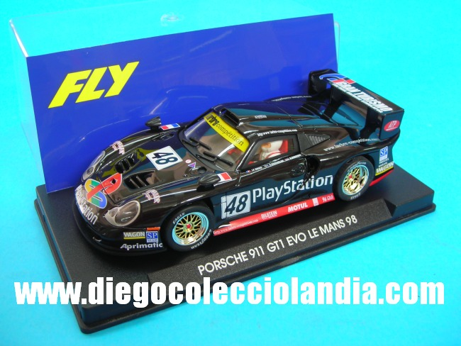 fly car model porsche 911 gt1 evo 48 le mans 98 de fly. Black Bedroom Furniture Sets. Home Design Ideas