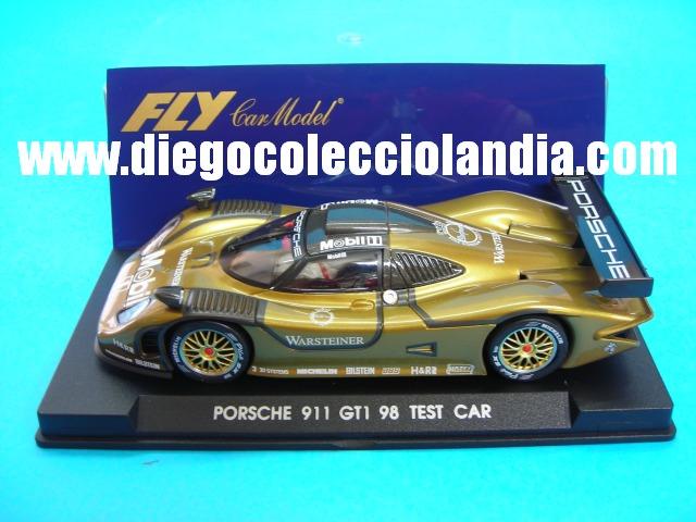 fly car model porsche 911 gt1 98 test car de fly car model ref. Black Bedroom Furniture Sets. Home Design Ideas