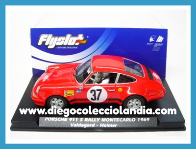 "PORSCHE 911 S "" RALLY MONTECARLO 1969 "" VALDEGARD / HELMER DE FLYSLOT REF / 036107 .TODOS LOS COCHES DE SLOT DE LA WEB, SON COMPATIBLES CON CIRCUITOS SCALEXTRIC, SUPERSLOT, NINCO Y CARRERA........................... www.diegocolecciolandia.com . Slot Cars Shop Madrid, Spain. Tienda Slot, Scalextric Madrid, España."