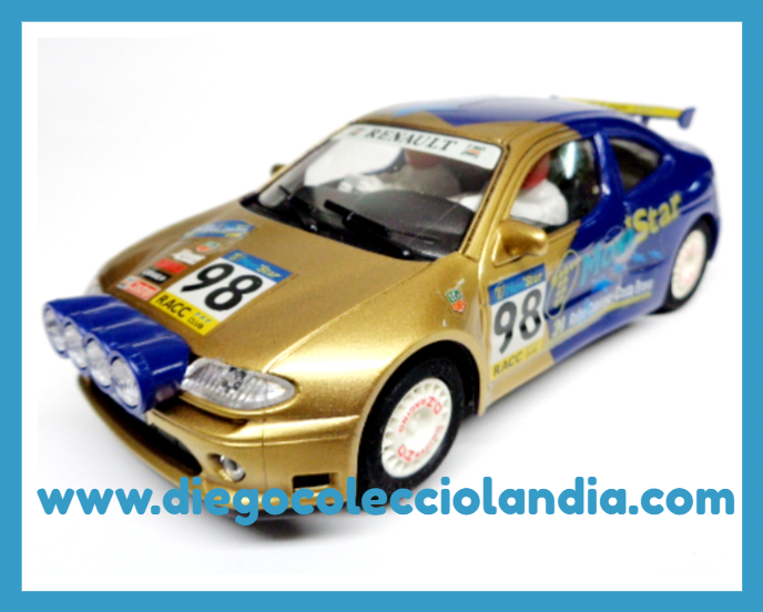 "RENAULT MEGANE "" CATALUÑA- COSTA BRAVA 98 "" DE NINCO REF / 50161 . TODOS LOS COCHES DE SLOT DE LA WEB, SON COMPATIBLES CON CIRCUITOS SCALEXTRIC, SUPERSLOT, NINCO Y CARRERA............ www.diegocolecciolandia.com . Tienda Slot Scalextric Madrid España . Slot Cars Shop Madrid Spain"
