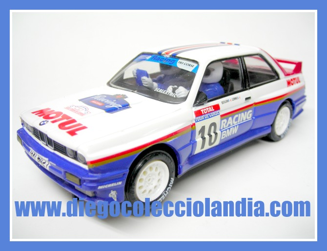 "BMW M3 "" RACING BMW "" DE SCALEXTRIC / ALTAYA.  COCHE NUEVO A ESTRENAR SIN CAJA. ( LOS COCHES DE SCALEXTRIC / PLANETA Y ALTAYA, NO SE VENDIERON, EN SU MOMENTO, CON CAJA )