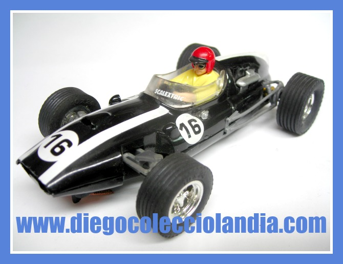 COOPER CLIMAX #16 DE SCALEXTRIC / ALTAYA.  COCHE NUEVO A ESTRENAR SIN CAJA. ( LOS COCHES DE SCALEXTRIC / PLANETA Y ALTAYA, NO SE VENDIERON, EN SU MOMENTO, CON CAJA )