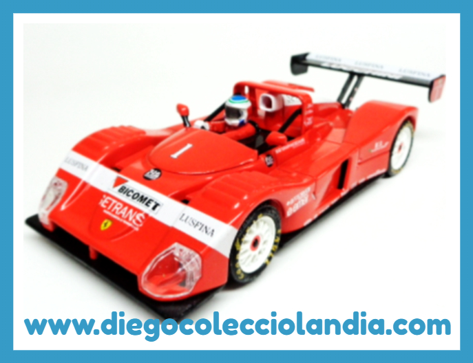 FERRARI 333 SP  #1 DE SCALEXTRIC / PLANETA.  COCHE NUEVO A ESTRENAR SIN CAJA. ( LOS COCHES DE SCALEXTRIC / PLANETA Y ALTAYA, NO SE VENDIERON, EN SU MOMENTO, CON CAJA )