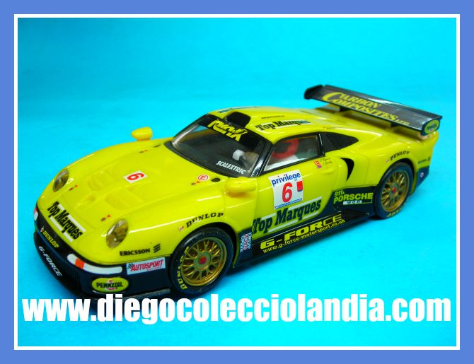 scalextric altaya planeta porsche 911 gt1 6 de scalextric planeta nuevo a estrenar los. Black Bedroom Furniture Sets. Home Design Ideas
