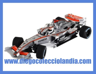 MC LAREN MERCEDES MP4-21 #3 DE SCALEXTRIC REF/ 6246 . TODOS LOS COCHES DE SLOT DE LA WEB, SON COMPATIBLES CON CIRCUITOS SCALEXTRIC, SUPERSLOT, NINCO Y CARRERA.