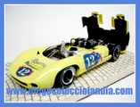 "LOLA T70 SPYDER "" MOSPORT PARK 1967 "" DE SLOTER REF/ 9516 . EDICIÓN LIMITADA Y NUMERADA. .TODOS LOS COCHES DE SLOT DE LA WEB, SON COMPATIBLES CON CIRCUITOS SCALEXTRIC, SUPERSLOT, NINCO Y CARRERA....................... WWW.DIEGOCOLECCIOLANDIA.COM . SLOT CARS SHOP SPAIN."