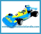 "MARCH 761 "" GRAND PRIX BRAZIL 1976 "" DE SLOTWINGS REF/ W045-04 . "" LELLA LOMBARDI "" .TODOS LOS COCHES DE SLOT DE LA WEB, SON COMPATIBLES CON CIRCUITOS SCALEXTRIC, SUPERSLOT, NINCO Y CARRERA........................... WWW.DIEGOCOLECCIOLANDIA.COM . SLOT CARS SHOP SPAIN. TIENDA SLOT, SCALEXTRIC MADRID, ESPAÑA."