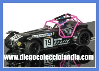 "CATERHAM SUPERLIGHT #19 "" CATERHAM SUPERLIGHT CHAMPIONSHIP 2014 "" DE SUPERSLOT REF/ H3647. TODOS LOS COCHES DE SLOT DE LA WEB, SON COMPATIBLES CON CIRCUITOS SCALEXTRIC, SUPERSLOT, NINCO Y CARRERA."