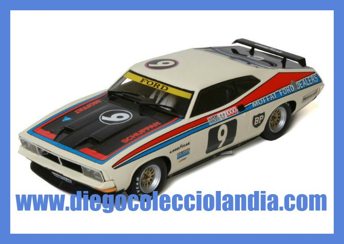FORD XB FALCON #9 DE SUPERSLOT REF/ S3303 . TODOS LOS COCHES DE SLOT DE LA WEB, SON COMPATIBLES CON CIRCUITOS SCALEXTRIC, SUPERSLOT, NINCO Y CARRERA........ www.diegocolecciolandia.com . Tienda Slot, Scalextric Madrid, España. Slot Cars Shop Spain.