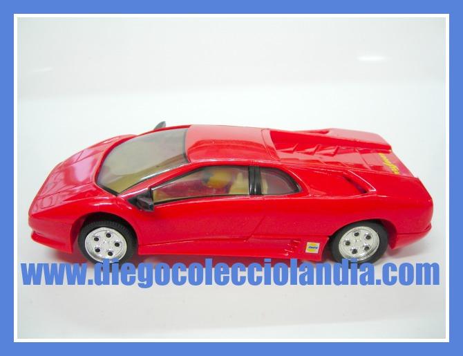 Superslot Lamborghini Diablo Rojo De Superslot Ref C002 Nuevo